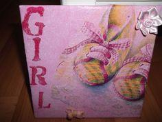 Tegel gemaakt voor een meisje