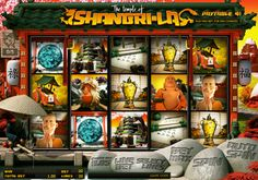 The Temple of Shangri-La has evaded explorers for centuries, and now it is your job to find it! Once you're in you'll be met with dangerous weapons and ancient martial arts experts trying to ruin your chance of taking the temples famous treasure! Shangri-La is one of the latest and greatest video slots games to hit the market. It features a terrific theme and it's fun and easy to play! Try your chances at getting winning combinations in this hot new 20 win line, 5 reel, 3 row video slot game.