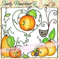 Swirly Pumpkins 2