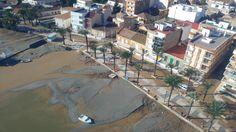 La recuperación de las playas afectadas por las inundaciones comenzará en próximas semanas