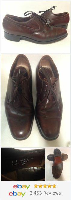 Florsheim Mens Shoes Brown Leather Size 9 E #mensfashion #florsheim