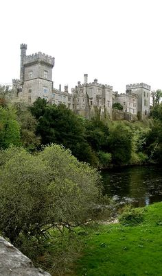 Lismore Castle - Waterford, Ireland My ancestors are from Lismore. How I would love to go here. Used in Northanger Abbey Oh The Places You'll Go, Places To Travel, Places To Visit, Beautiful Castles, Beautiful Places, Beautiful Gardens, Famous Castles, Palaces, Medieval Castle