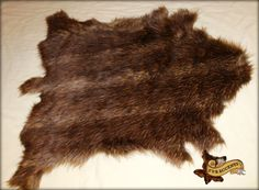 I CANT BELIEVE ITS FAUX! THIS GREAT LOOKING FALLOW DEER HIDE PELT RUG IS MADE FROM POLYESTER FAUX FUR! BE KIND TO ANIMALS ALWAYS BUY FAUX!