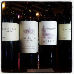 The delicious wines of Ladera Vineyards.