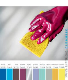 Lenzing Spring/Summer 2013 Color Trends   Fashion Trendsetter