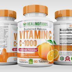 Designs   Design Vitamin C Pill Bottle   Product label contest