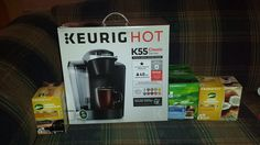 I love #Keurig and the K55 brewer that I received for #review along with 3 amazing K-Cup flavors, for my #EasterGuide