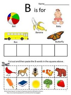 The Alphabet, Cut and Paste Worksheet set For Pre-k,K and Special Education.Learning the alphabet is the first and most important step in learning how to read. After this skill is in place, students are ready for the next step in learning how to master reading. This Alphabet Cut and Paste is a fun way for the student to learn the alphabet.