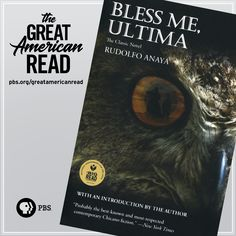 Is Bless Me, Ultima is your favorite novel? Learn more about The Great American Read at pbs.org/greatamericanread! #GreatReadPBS Book Club Books, Books To Read, My Books, Book Clubs, Reading Lists, Book Lists, Man And Dog, Book Writer, Enough Is Enough