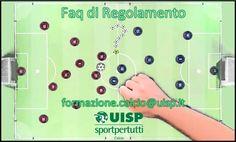 Azione sinergica di #Formazione #Comunicazione e #Settoretecnicoarbitrale della @NazCalcioUisp. Nasce la Faq Regolamento Gioco Calcio UISP.