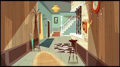 """JAMIE'S GOT TENTACLES!""   Backgrounds painting : Gael BECU  Backgrounds design :Thomas GREFFARD"