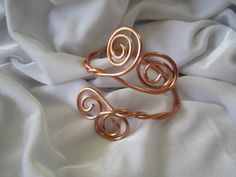 SALE 20% off, use coupon code: PIN10 EXTRA 10% off! Copper #bracelet twisted wire design with swirls. WIRE: Wire you're interested in not listed, just let me know. If you'd like bronze, gold, gold-filled, silver-filled or... #jewelry #metal