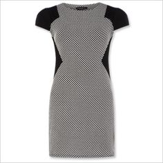 Spring Fashion Trends -- Black & White: Dorothy Perkins Tunic