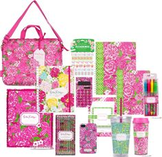 Nothing says the start of a new school year like fresh new and pretty supplies. These Lilly Pulitzer are must haves!