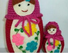 Amigurumi Russian Doll Pattern : Crochet pattern matryoshka by atergcrochet by atergcrochet on etsy