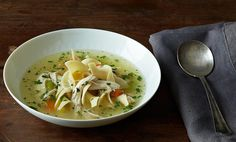 Easy and authentic homemade Chicken Noodle Soup and Broth. Fresh and simple!