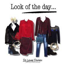 www.deleukedingen.nl  #lookoftheday #businesschic #sportychic #red #bleu #stars #blazers #lammy #jeans #fashion #trendy @deleukedingen