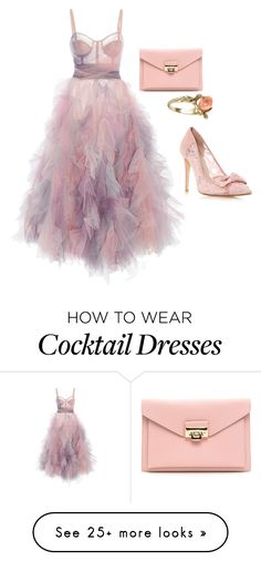 """Prom Classic Look"" by goingsolo on Polyvore featuring Marchesa and Vintage"