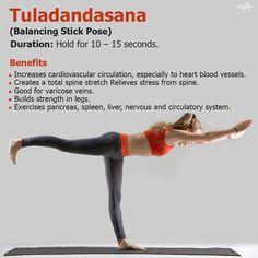 Balancing Stick pose