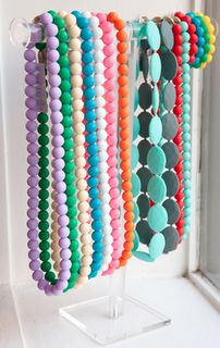 Chewbeads - mommy chic, baby safe (necklaces that are safe for babies to gnaw on)