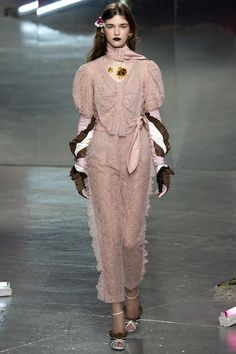 Rodarte Fall 2016 Ready-to-Wear Fashion Show. I WANT TO WEAR THIS EVERYDAY