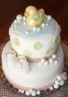 Ducky, Baby Shower Cake