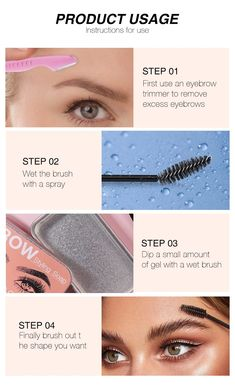 Eyebrow Sculpting Kit. Get that natural eyebrow look and keep your brows in place with this sculpting kit. The kit includes: 1 Eyebrow Trimmer 1 Eyebrow Brush 1 Eyebrow Styling Soap Use the trimmer to remove unwanted hair from around your brows, wet your brush, dip into the styling soap and brush your eyebrow hair into place. You're done! You can leave them that way or use your favorite eyebrow pencil to fill them in. The styling soap is waterproof and sweat proof so your brows stay in place all Eyebrow Sculpting, Eyebrow Brush, Eyebrow Pencil, Eyebrow Makeup, Eyebrow Trimmer, Contour Makeup, Eyeliner, Brow Wax, Brow Pomade