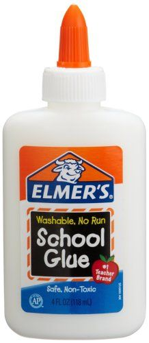 Elmer's School Glue... spread across the back of your hand, wait until it dried, and then tried to peel it off in one piece