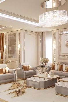 Fancy Living Rooms, Home Design Living Room, Classic Living Room, Elegant Living Room, Luxury Living Rooms, Elegant Home Decor, Living Room Furniture, Living Room Decor, Living Room Interior