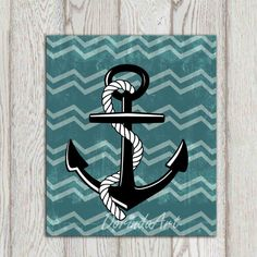 Hey, I found this really awesome Etsy listing at https://www.etsy.com/listing/181969920/anchor-printable-nautical-wall-art