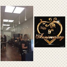 #luciacsalon #celebrates 9YEARS  #business #today  #thankyou  our #amazing #staff #clients for all your hard work #dedication  & #support ❤️