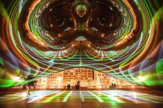 Chicago: The Luminous Field Installation Turns Cloud Gate into a Disco Ball.