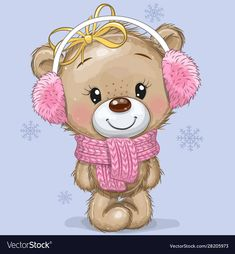 Find Cute Cartoon Teddy Bear Knitted Scarf stock images in HD and millions of other royalty-free stock photos, illustrations and vectors in the Shutterstock collection. Thousands of new, high-quality pictures added every day. Cartoon Cartoon, Kids Cartoon Characters, Teddy Bear Cartoon, Cute Teddy Bears, Teddy Bear Images, Tatty Teddy, Clipart Baby, Cartoon Mignon, Baby Animals