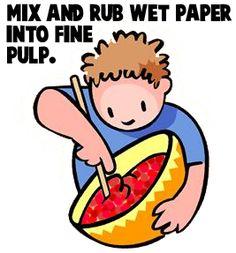 Papel machê com papel crepom