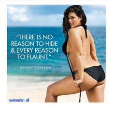 Ashley Gram pushing boundaries with this inspiring quote. Work it! Love her! #goalsaf
