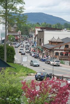I fell in love with this town last year. What a great vacation place to shop, eat, watch Olympians prepare, and take in the views! Summer Vacation Spots, Vacation Places, Great Places, Beautiful Places, Places To Visit, Beautiful Scenery, Lake Placid New York, Lake George Village, Great Vacations
