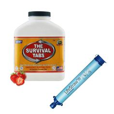 Life Straw Purification System Backpacker Gear + Gluten Free Survival Meal Tabs #TheSurvivalTabs