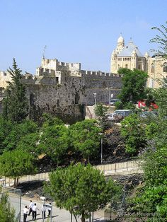 Wall around Old Jerusalem
