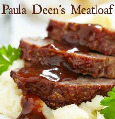 Recipe For Paula Deens Meatloaf - I have a couple of suggestions you may or may not wish to implement yourself but basically this is a damn good meatloaf just how it is.