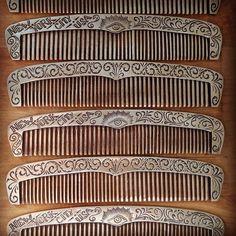 Comb production line.