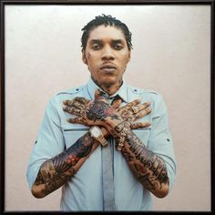 "Vybz Kartel ""Coffin Pose"" Print"