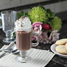 Red Velvet Hot Chocolate Cocktail!