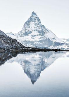 Matterhorn, Julisteet ryhmässä Julisteet / Koot / 61x91cm @ Desenio AB (8389)