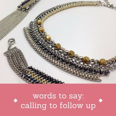 TIPS FOR STYLISTS: Words to say when you're calling to follow up after a trunk show or sale!!! // New blog post from 'a stylist's scribbles' - a blog for Stella & Dot stylists