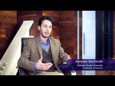 Fulbright Student Awardee - Alex MacDonald - YouTube