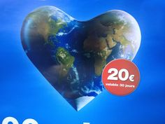 We've gotta hope it's worth more than EUR20, and valid for more than 30 days.... Nice ville, July 2014