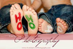 Ho Ho Ho feet... too cute!