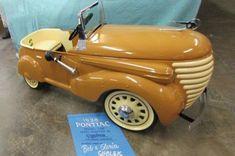 Vintage Cycles, Vintage Bikes, Vintage Toys, Pontiac, Roadster, Kids Ride On, Metal Toys, Pedal Cars, Go Kart