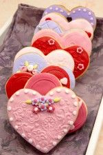 Buy Valentine cookies by Dulsita on PhotoDune. Valentine cookies decorated with heart shape Sweet Cookies, Cake Cookies, Sugar Cookies, Valentines Day Treats, Valentine Cookies, Heart Shaped Cookies, Cake Day, Candy Cakes, Fondant Icing