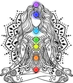 7 Chakras, Sacral Chakra, Chakra Healing, Namaste Tattoo, Namaste Art, Chakra Locations, Tattoo Mama, Chakra Tattoo, Chakra System